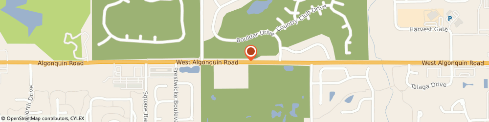 Route/map/directions to H & r Block, 60142 Huntley, 4580 WEST ALGONQUIN ROAD