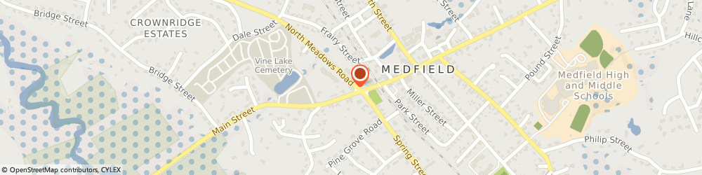 Route/map/directions to Navy Federal Credit Union ATM, 02052 Medfield, 563 Main St