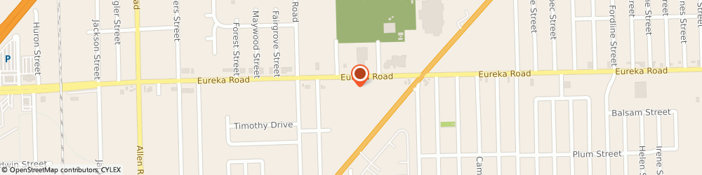 Route/map/directions to Outback Steakhouse, 48195 Southgate, 15765 Eureka Road
