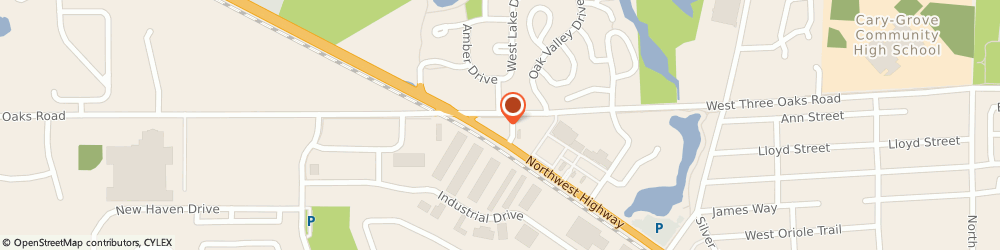 Route/map/directions to Fifth Third Bank & ATM, 60013 Cary, 750 Northwest Highway