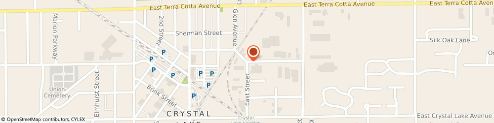 Route/map/directions to Robinette Insurance Agency, 60102 Algonquin, 1700 East Road Suite 218