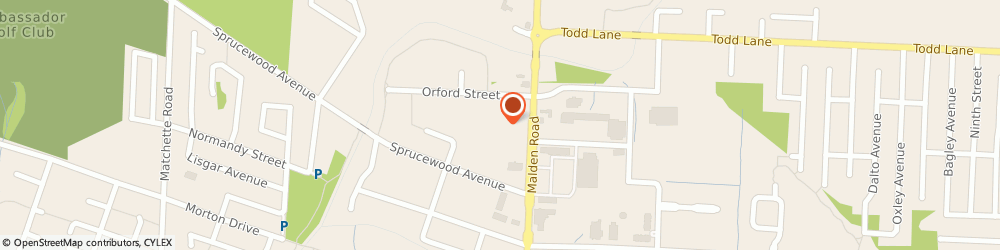 Route/map/directions to Sports Zone (Lasalle), N9H 1S3 Windsor, 5841 Malden Rd #168