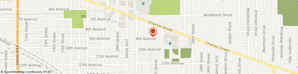 Route/map/directions to Bankers Life and Casualty Company, 61108 Rockford, 2710 9TH AVENUE