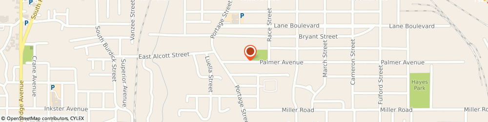 Route/map/directions to Consumers Concrete, 49003 Kalamazoo, P.O. Box 2229