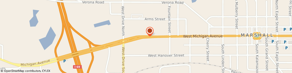 Route/map/directions to King Agency, 49068 Marshall, 1200 W Michigan Ave