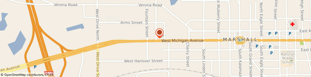 Route/map/directions to Mindy Deno Insurance, 49068 Marshall, 103 GREENFIELD BLVD