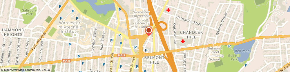 Route/map/directions to The Portland Group, 01605 Worcester, 660 Lincoln Street