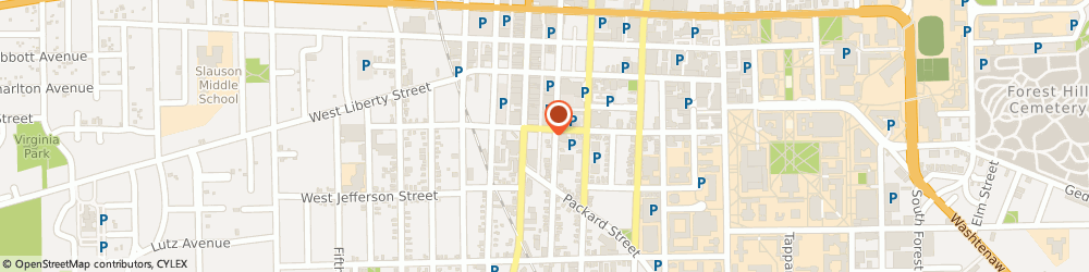 Route/map/directions to Citibank ATM, 48104 Ann Arbor, 114 East William Street