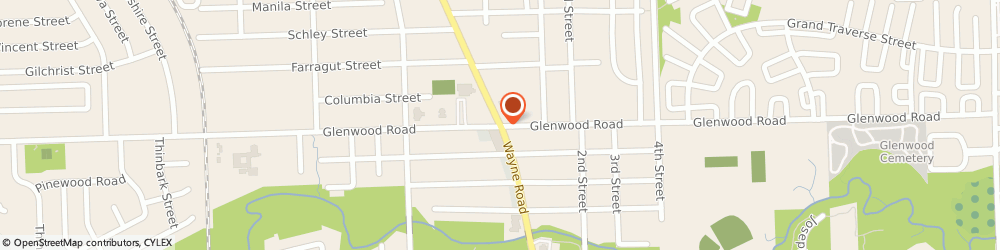 Route/map/directions to Dollar Tree Store, 48186 Westland, 2651 S WAYNE RD