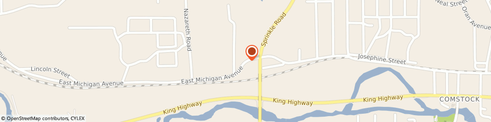Route/map/directions to Consumers Concrete Corporation - Blocks & Supplies, 49048 Kalamazoo, 3809 EAST MICHIGAN AVENUE