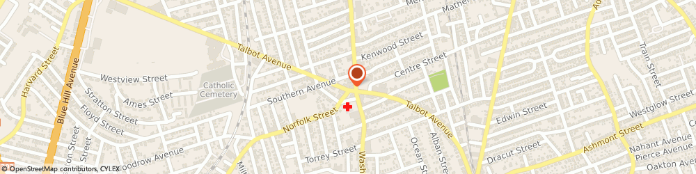 Route/map/directions to H&R Block, 02124 Dorchester, 348 Talbot Ave