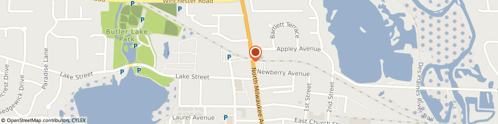 Route/map/directions to Safeco Insurance Agent, 60048-1964 Libertyville, 747 N Milwaukee Ave Ste 101