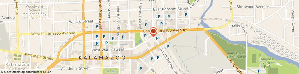 Route/map/directions to Chemical Bank Shoreline, 49007 Kalamazoo, 211 E. Water Street, Suite 100