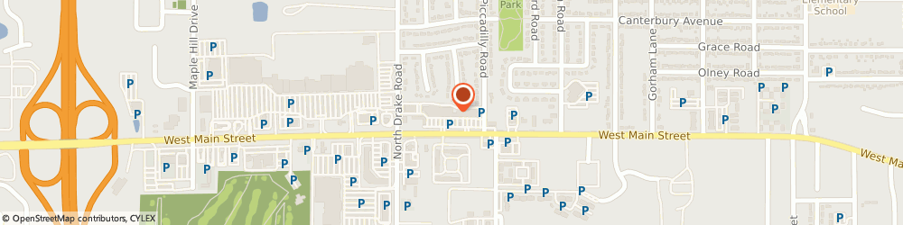 Route/map/directions to Cold Stone, 49006 Kalamazoo, 4540 W. Main Street,