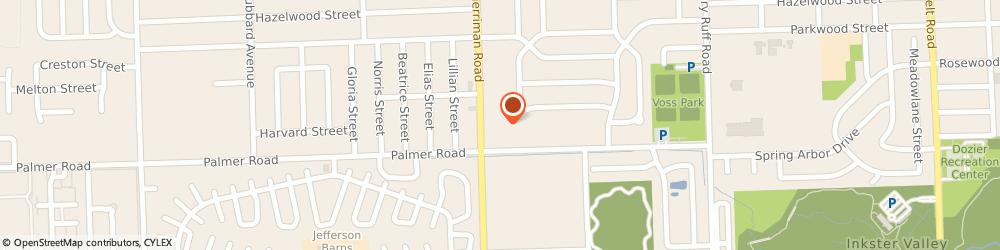 Route/map/directions to Citibank ATM, 48186 Westland, 1663 Merriman Road