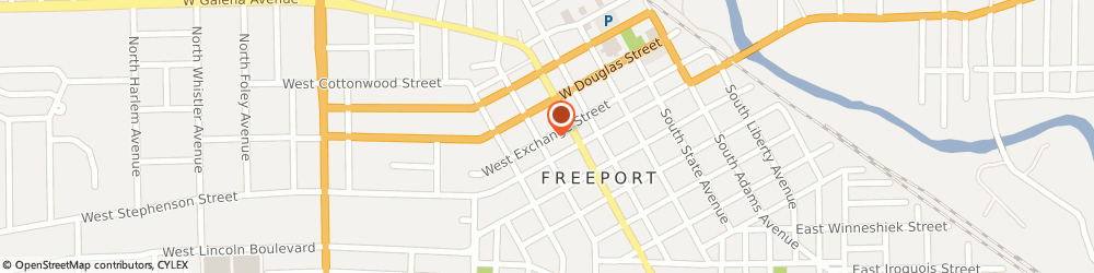 Route/map/directions to Quality Hearing Aids & Service, 61032 Freeport, 222 WEST EXCHANGE STREET