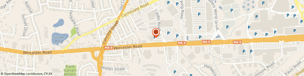 Route/map/directions to Robert Half, 01701 Framingham, 161 Worcester Rd