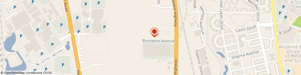 Route/map/directions to Simo Brothers, 60044 Lake Bluff, 12684 Brompton Avenue
