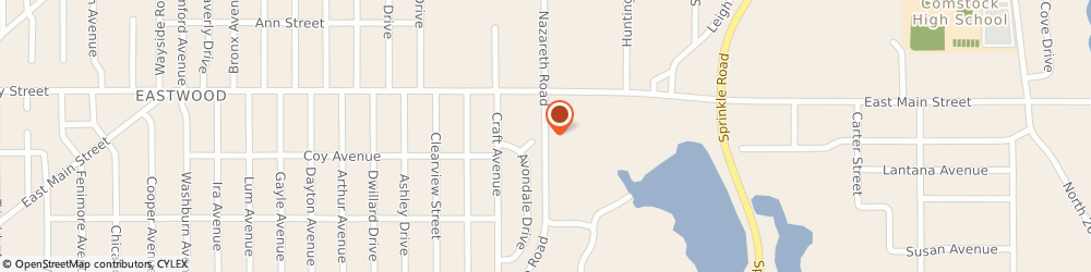 Route/map/directions to Consumers Concrete Corporation - Ready Mix Sales & Service, 49048 Kalamazoo, 1100 NAZARETH ROAD