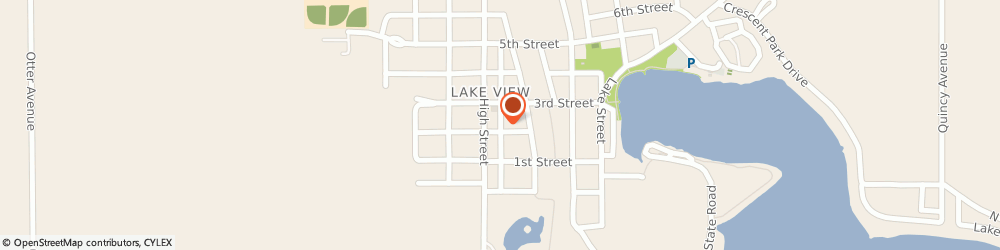 Route/map/directions to Lake View Foods, 51450 Lake View, 223 Main St