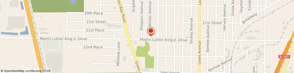 Route/map/directions to Domino's Pizza, 60064-2332 North Chicago, 2600 Martin Luther King Jr Dr