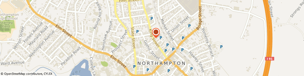 Route/map/directions to Safeco Insurance Agent, 01060-3280 Northampton, 88 King St Ste A