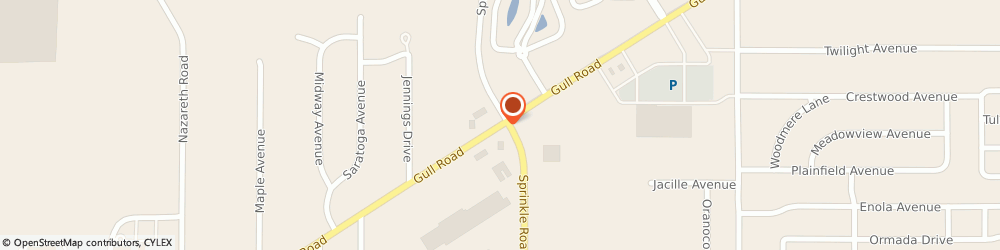 Route/map/directions to Centurytel, 49048 Kalamazoo, 5461 GULL ROAD