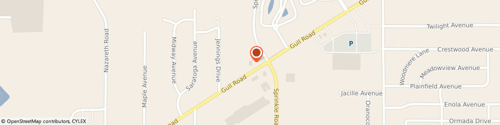 Route/map/directions to Hungry Howie's, 49008 Kalamazoo, 5455 Gull Rd.