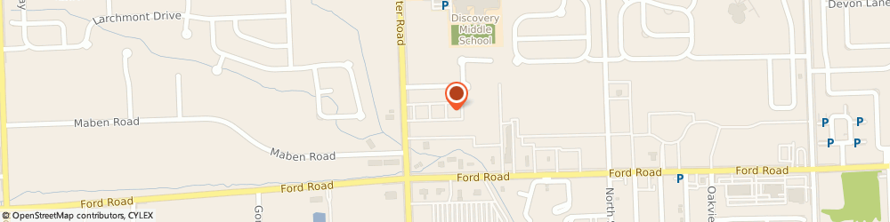 Route/map/directions to CANTON MUSIC ACADEMY, 48187 Canton, 5880 N Canton Center Rd Ste 425