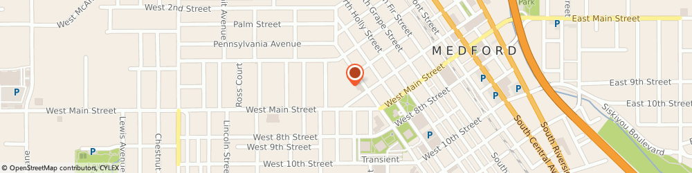 Route/map/directions to YMCA of Medford, 97501 Medford, 522 W 6th St