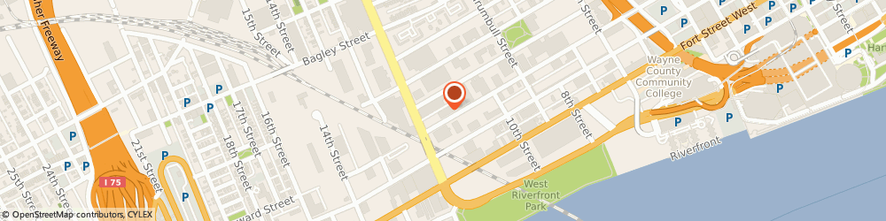 Route/map/directions to American Building Maintenance, 48216 Detroit, 1752 Howard,