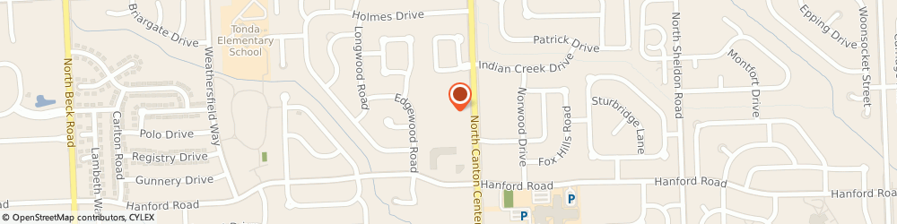 Route/map/directions to The Goddard School, 48187 Canton, 6697 N. Canton Center Road