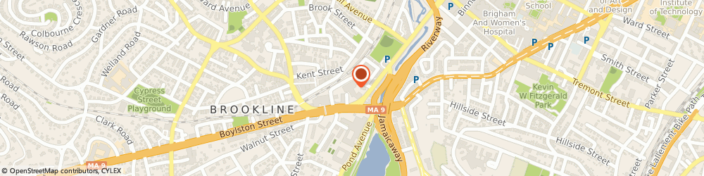 Route/map/directions to Get DNA Tested Today, 02445 Brookline, 1 Brookline Pl