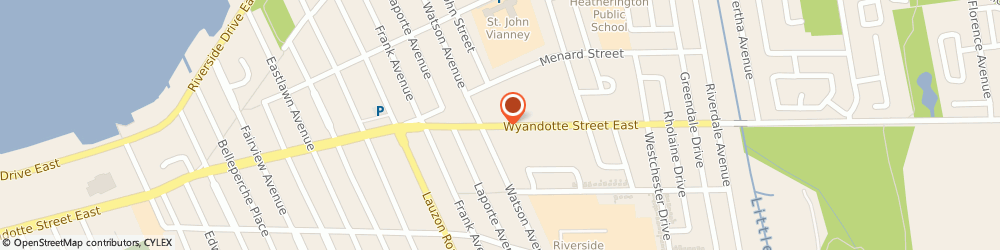 Route/map/directions to Pet Valu WINDSOR, N8S 1T6 Windsor, 8420 Wyandotte Avenue East