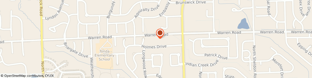 Route/map/directions to Alcon Driver Testing, 48187 Canton, 46001 Warren Rd #2