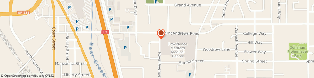 Route/map/directions to Safeco Insurance Agent, 97504-6128 Medford, 1123 Royal Ave