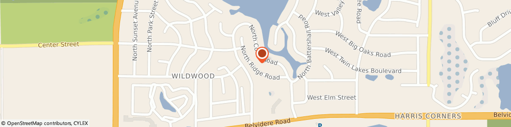 Route/map/directions to Benny's Electrical Contracting, 60030 Grayslake, 33081 N Ridge Rd