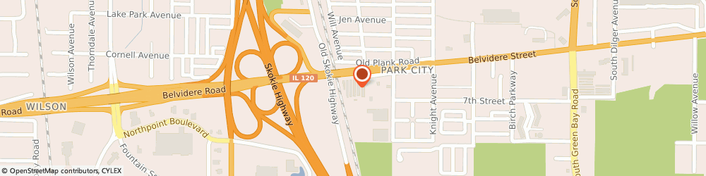 Route/map/directions to Public Storage, 60085 Park City, 3501 Belvidere Road