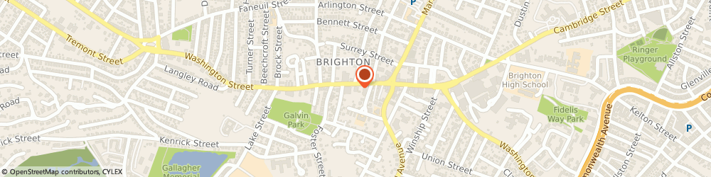 Route/map/directions to Citizens Bank, 02135 Brighton, 414 Washington St
