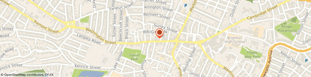 Route/map/directions to Santander Bank ATM, 02135 Brighton, 427 Washington St