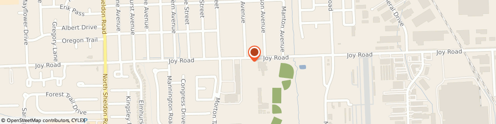 Route/map/directions to Schmidts Roadside, 48187 Canton, 43125 JOY ROAD