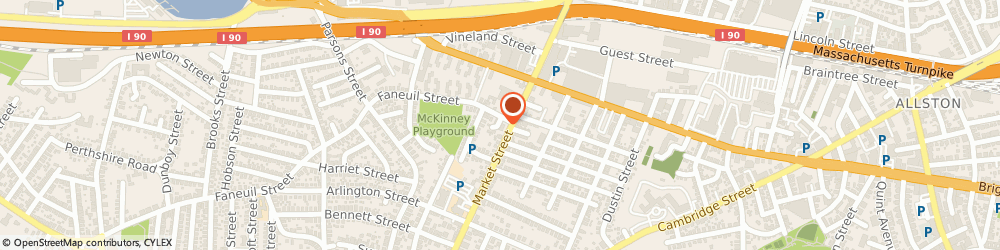 Route/map/directions to Citibank ATM, 02135 Brighton, 241 Market St