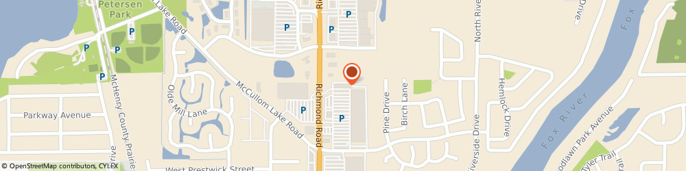 Route/map/directions to Pearle Vision, 60051 Mchenry, 2050 N. Richmond Rd.