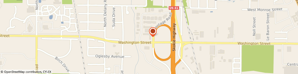 Route/map/directions to Prestige Cleaners, 60031 Gurnee, 3900 WASHINGTON STREET