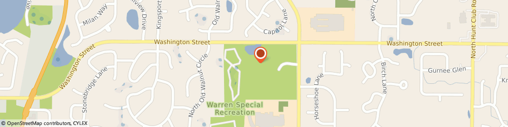Route/map/directions to Warren Twp General Offices, 60031 Gurnee, 17801 W Washington Street