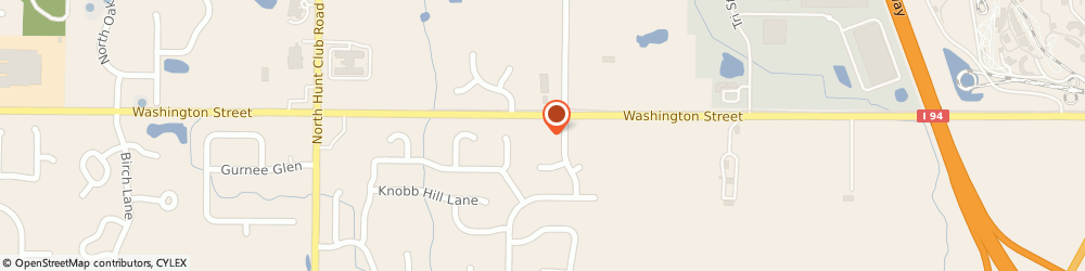 Route/map/directions to Weinberg Michael G Dmd, 60031 Gurnee, 6121 WASHINGTON STREET