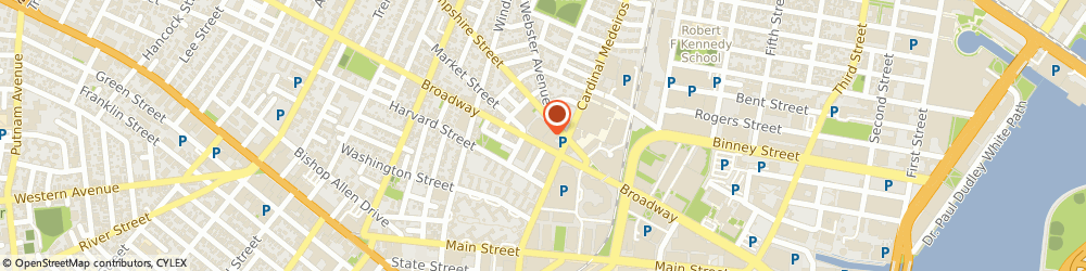 Route/map/directions to Jobcase, 02139 Cambridge, 201 Broadway