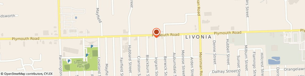 Route/map/directions to Champion Driving School, 48150 Livonia, 32011 PLYMOUTH RD