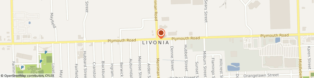 Route/map/directions to MSC INDUSTRIAL SUPPLY, 48150 Livonia, 13599 Merriman Rd