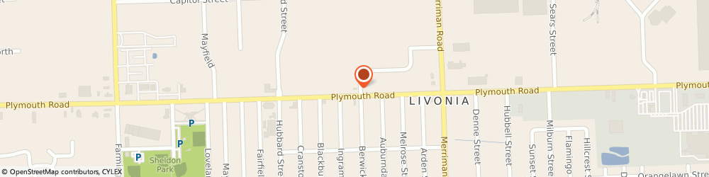 Route/map/directions to Enterprise Rent-A-Car, 48150 Livonia, 31800 Plymouth Rd